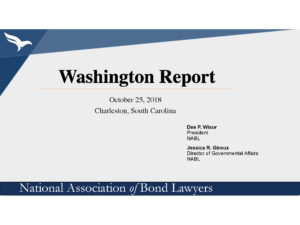 Washington Report