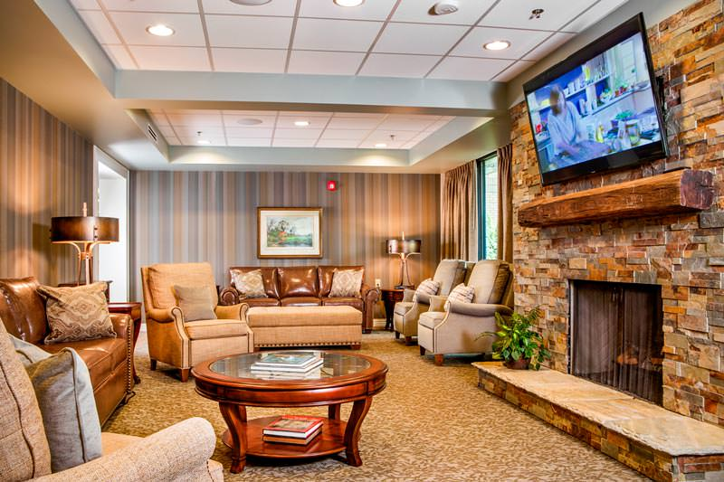 Picture of Den at Woodbridge Clinton Senior Living